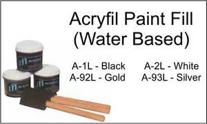 ACRYFIL BLACK / 8 OUNCE 1 STD PACK