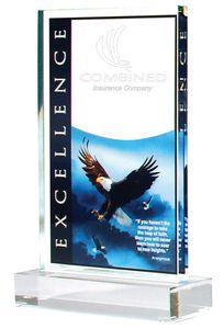EAGLE ACRY 4X6 W/BASE 6 STD PACK