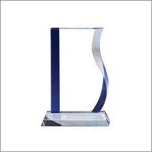 BLUE WAVE GLASS LARGE 6 STD PACK