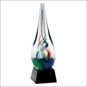 "ART GLASS 7.5"" TALL 4 STD PACK"