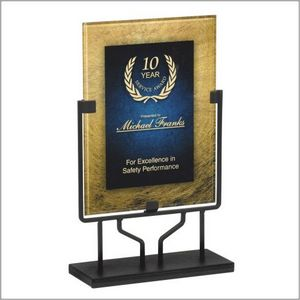 **PLAQUE W/STAND 9.5X15 1 STD PACK