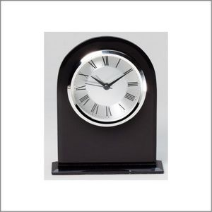 BLACK GLASS DOMED CLOCK 1 STD PACK      12 MASTE