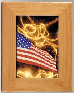 "WOOD FRAME 7.5""X9.5"" FOR 24 STD PACK"