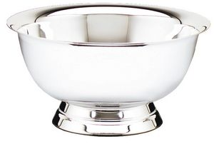 "REVERE BOWL 4"" NICKEL PL 48 STD PACK   (NOT ENGRA"
