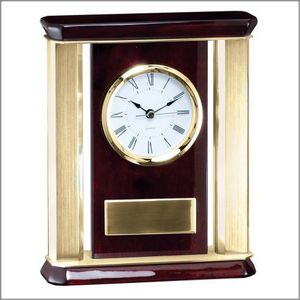 ROSEWOOD CLOCK - GOLD 2 STD PACK       6 MASTE