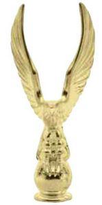 """METAL EAGLES 2-5/8"""" GOLD 200 STD PACK"""