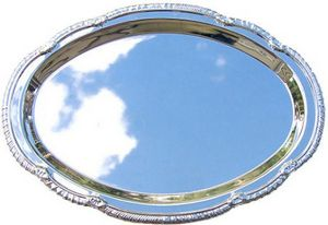 SILVER TRAY SMALL OVAL P 48 STD PACK    144 MASTE