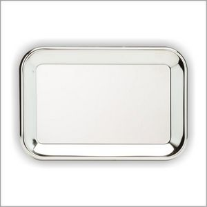 "CROME TRAY RECT 13.75""X9 1 STD PACK      72 MASTE"
